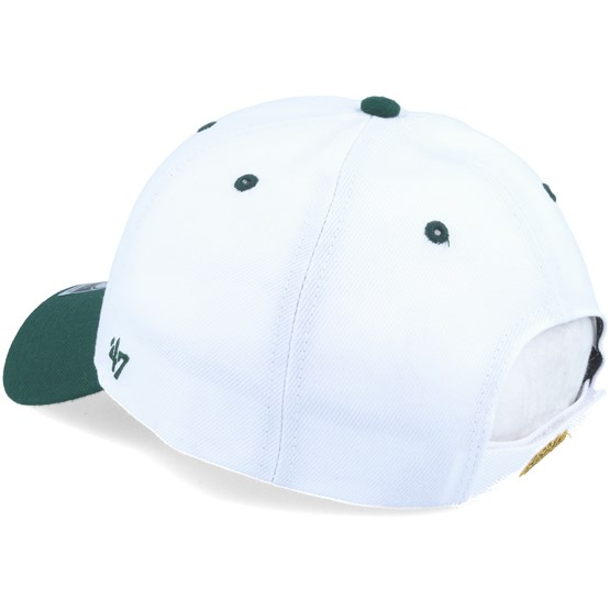 brand new dc2de 7e9c3 Oakland Athletics Audible 2 Tone Mvp White dark Green Adjustable - 47 Brand  caps - Hatstoreworld.com