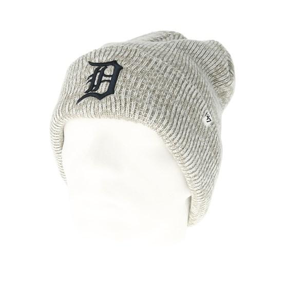 f174d0854a774 Detroit Tigers Brain Freeze Gray Cuff - 47 Brand beanies - Hatstoreworld.com