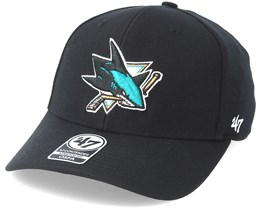 San Jose Sharks Contender Black Flexfit - 47 Brand