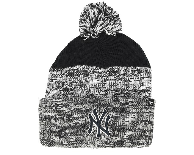 d3c451988 New York Yankees Static Knit Navy/Grey Pom - 47 Brand beanies -  Hatstorecanada.com