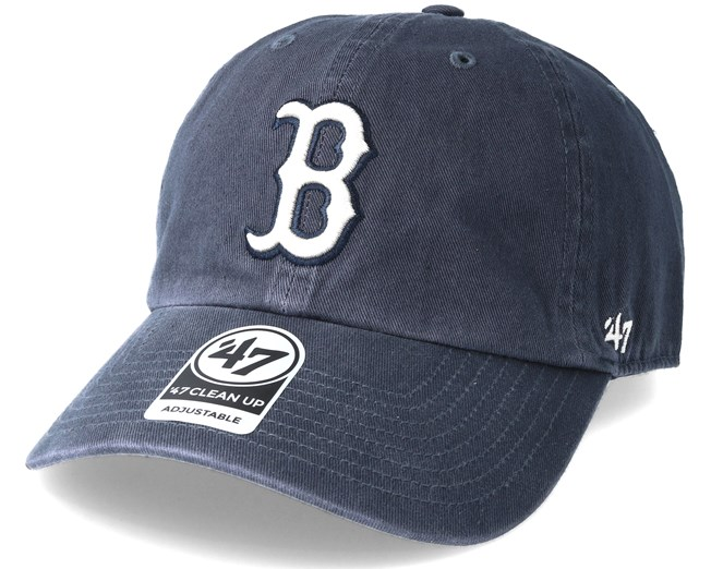 Boston Red Sox Clean Up Vintage Navy Adjustable - 47 Brand caps ... d79d67ed669