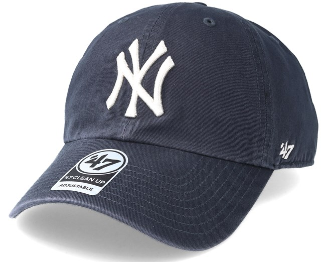 93deb55d51a New York Yankees Clean Up Vintage Navy Adjustable - 47 Brand caps -  Hatstoreworld.com