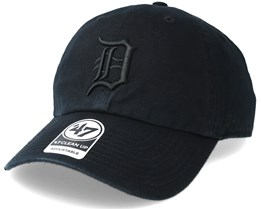 Detroit Tigers Clean Up Black Adjustable - 47 Brand