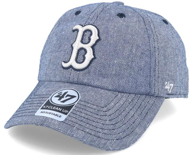 Boston Red Sox Strike Through Clean Up Heather Navy Adjustable - 47 Brand  caps - Hatstoreaustralia.com 84b5737bc7ae