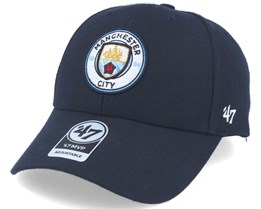 Manchester City Mvp Navy Adjustable - 47 Brand