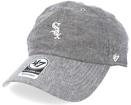 Chicago White Sox Monument Salute Grey Clean Up Adjustable - 47 Brand
