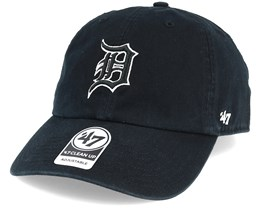 Detroit Tigers Clean Up Black Adjustable - 47 Brand