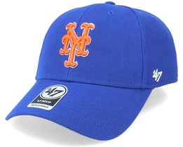 New York Mets Mvp Royal/Orange Adjustable - 47 Brand