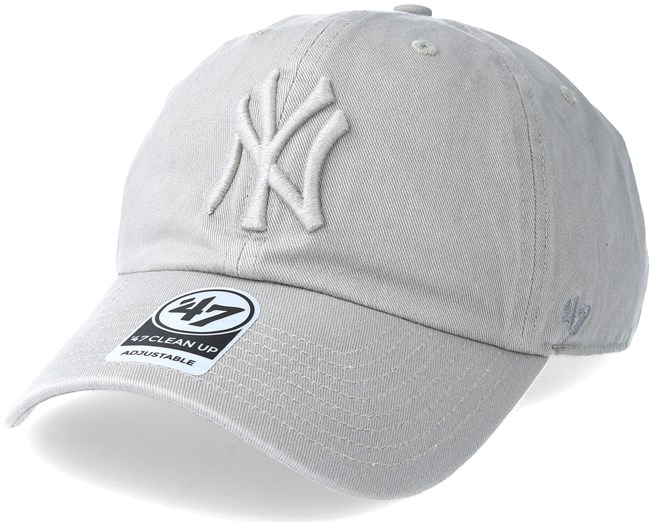 stable quality aliexpress really comfortable New York Yankees Clean Up Gray Adjustable - 47 Brand cap ...