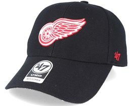 Detroit Red Wings Mvp Black Adjustable - 47 Brand