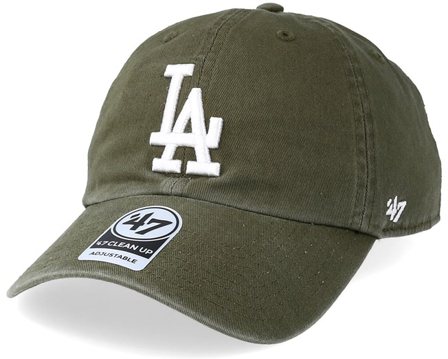 size 40 9059c a055e Los Angeles Dodgers Clean Up Sandalwood White Adjustable - 47 Brand caps -  Hatstoreaustralia.com