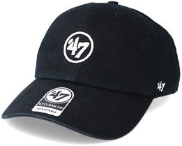 47 Brand Logo Clean Up Black Adjustable - 47 Brand