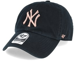 New York Yankees Metallic Black/Copper Loughlin Adjustable - 47 Brand