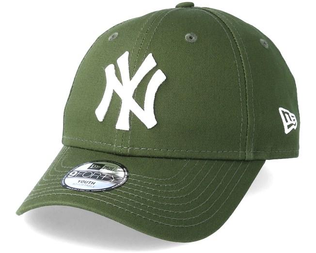 a070fb9ad77 Kids New York Yankees 9Forty League Essential Green Adjustable - New Era  caps - Hatstoreworld.com