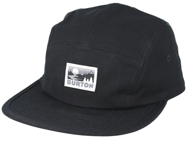 a01055e55e46f Cordova True Black 5-Panel - Burton caps - Hatstoreworld.com