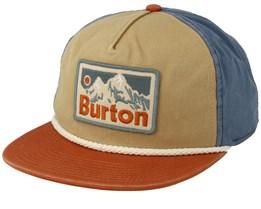 Buckweed Ochre/Blue Snapback - Burton