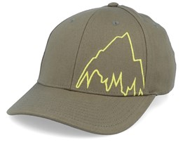 Mountain Slidestyle Martini Olive/Yellow Flexfit - Burton