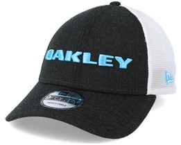 Heather New Era Hat Black Adjustable - Oakley