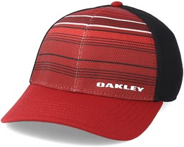 Silicone Bark Print 2.0 Iron Red Flexfit - Oakley