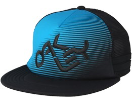 Novelty Logo Atomic Blue/Black Trucker - Oakley