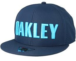 Perf Atomic Blue Snapback - Oakley