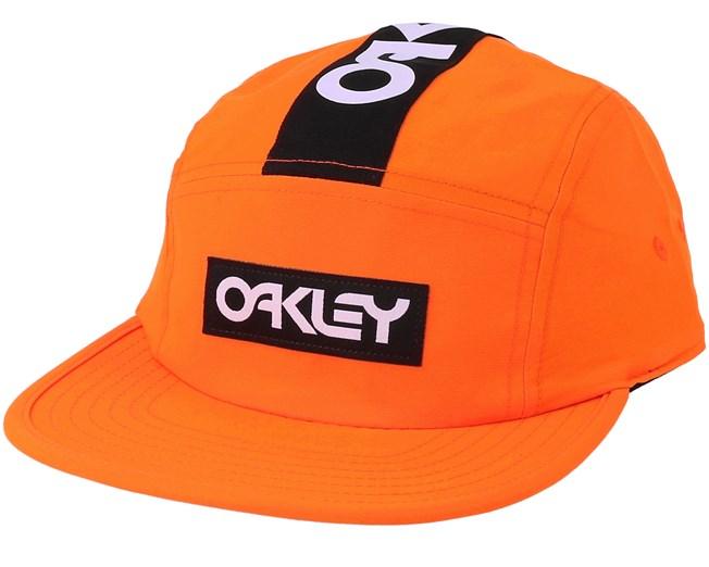 1325e7163f6 Frogskin Orange 5-Panel - Oakley caps - Hatstoreworld.com