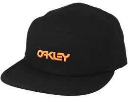 Cotton Hat Black 5-Panel - Oakley