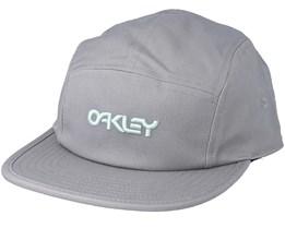 Cotton Hat Light Grey 5-Panel - Oakley