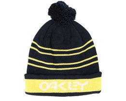 B1B Logo Striped Black/Yellow Pom - Oakley