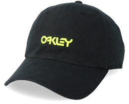Washed Cotton 6 Panel Blackout Black Adjustable - Oakley