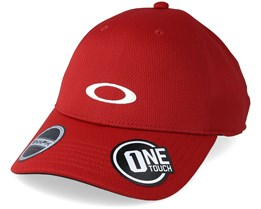 the latest 089c0 e21ad Tech Cap Red Line Adjustable - Oakley