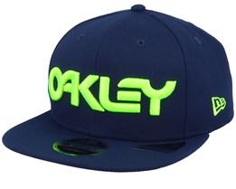Neon 9Fifty Foggy Blue/Yellow Snapback - Oakley
