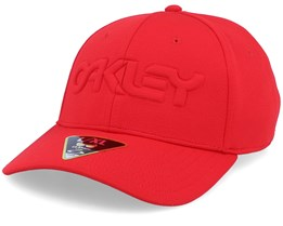 Embossed High Risk Red Flexfit - Oakley