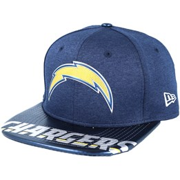 ab90310223fca7 Only 1 left! New Era Los Angeles Chargers Draft 2017 9Fifty Navy Snapback  ...
