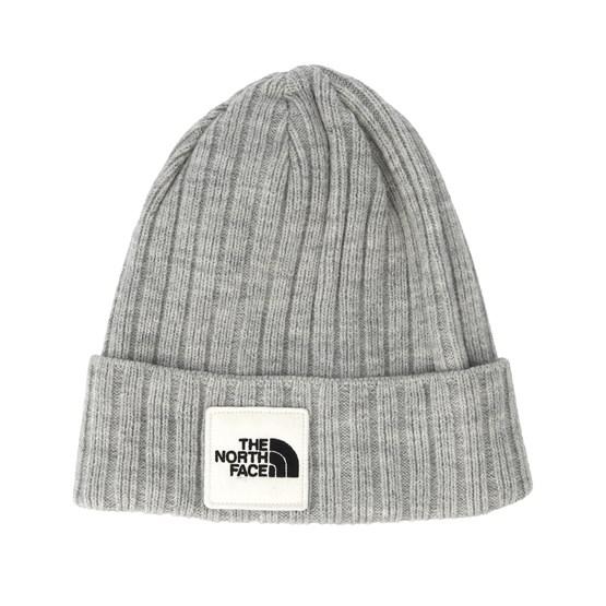 36c4f6987 Logo Box Light Grey Cuff Beanie - The North Face