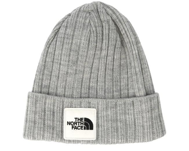 faea82de9 Logo Box Light Grey Cuff Beanie - The North Face beanies ...