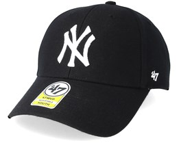 Kids New York Yankees Youth Mvp Black Adjustable - 47 Brand