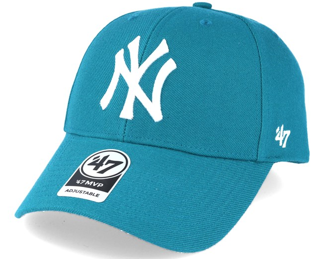 New York Yankees Mvp Dark Teal Adjustable - 47 Brand - Start Gorra -  Hatstore e5f52654cf6