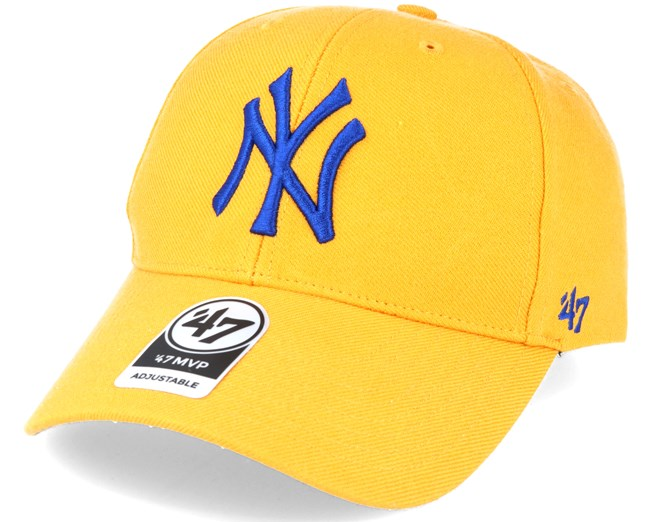 New York Yankees Mvp Yellow Adjustable - 47 Brand - Start Gorra - Hatstore 4163dd6b7ba