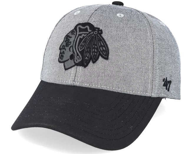 Chicago Blackhawks All In Mvp Grey black Adjustable - 47 Brand - Start Gorra  - Hatstore 7c668808d9b