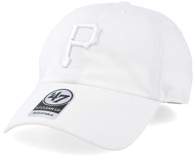 750bae28cce8a Pittsburgh Pirates Clean Up White White Adjustable - 47 Brand caps -  Hatstorecanada.com