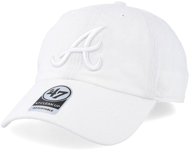 02677904 Atlanta Braves Clean Up White Adjustable - 47 Brand caps -  Hatstoreaustralia.com