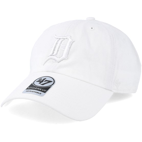 new product 24551 08100 Detroit Tigers Clean Up White Adjustable - 47 Brand caps -  Hatstoreaustralia.com