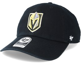Vegas Golden Knights Clean up Black Adjustable - 47 Brand