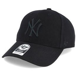 20a47ab87ca 47 Brand New York Yankees Mvp Black Black Adjustable - 47 Brand CA  31.99