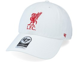 Liverpool Fc Clean Up White Dad Cap - 47 Brand