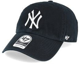 New York Yankees Metallic Black/Silver Loughlin Adjustable - 47 Brand