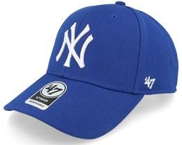 4e3f01e8fd7 New York Yankees Mvp Royal 1 Adjustable - 47 Brand