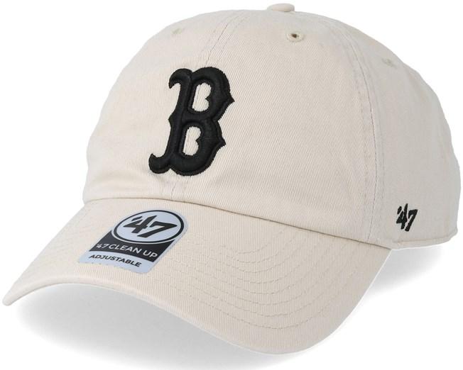 e9151e7d9bc Boston Red Sox Clean Up Natural Adjustable - 47 Brand caps -  Hatstoreworld.com