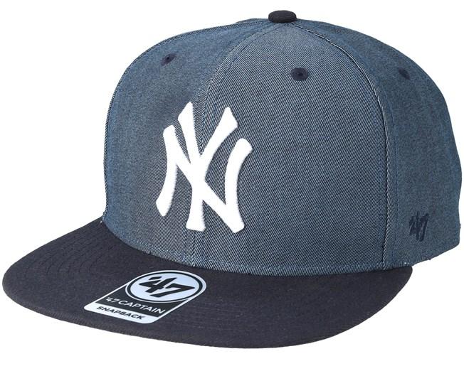9b5a032cc43 New York Yankees Double Move 47 Captain Shadow Snapback - 47 Brand ...